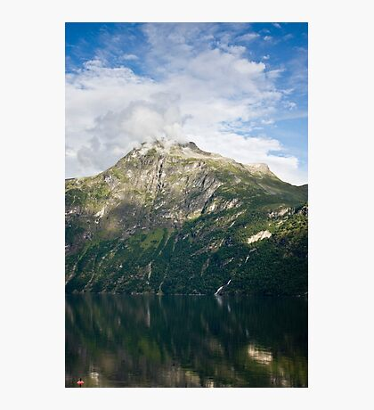 Fuming mountain Photographic Print