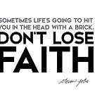 dont lose faith - steve jobs by razvandrc