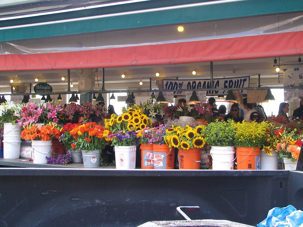 Pike Place Flowers by MelindaUSA79
