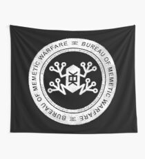 Bureau of Memetic Warfare -white- Wall Tapestry