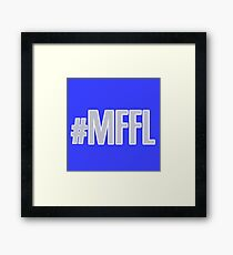 MAVS FAN FOR LIFE Framed Print