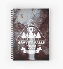 Visit Gravity Falls, Oregon! Spiral Notebook