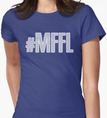 MAVS FAN FOR LIFE Women's Fitted T-Shirt