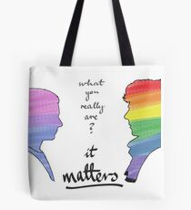 Johnlock LGBT pride (in version) Tote Bag