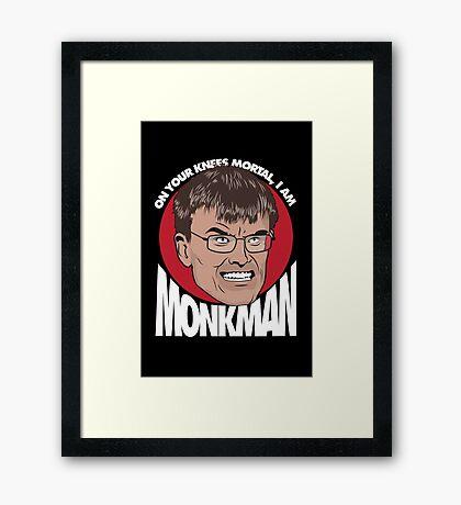 Eric Monkman - God amongst men Framed Print