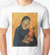 Madonna and Child medieval painting Unisex T-Shirt