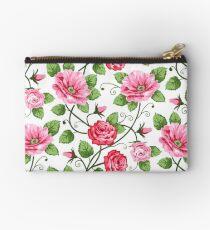Floral Textile Art - 16 Studio Pouch