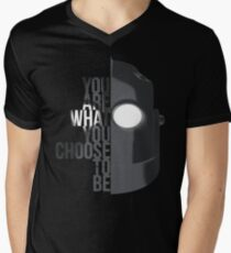 Wise Choice is necessary Mens V-Neck T-Shirt