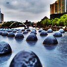 Yarra River Footbridge by Nicole Goggins