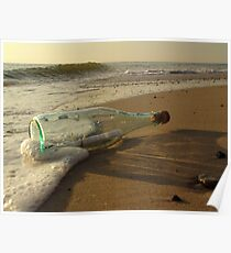 message in a bottle - 2 Poster