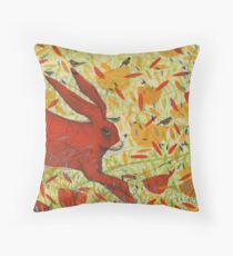 The Arrival of Summer Throw Pillow
