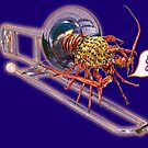 Trombone Lobster Music by didielicious