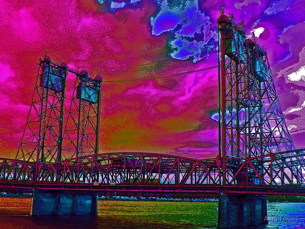 Columbia Bridge by Amy Tower
