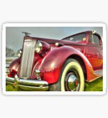 Packard Type 138 Vintage Saloon Car Sticker