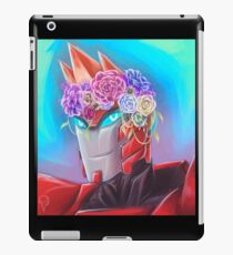 Sideswipe in a Flower Crown iPad Case/Skin