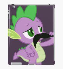 Mustache Spike iPad Case/Skin