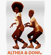 Althea and Donna Poster