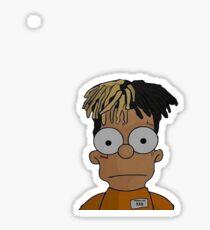Bart / xxxtentacion Sticker