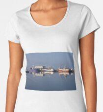 Reflections in Dingle Harbour, Ireland Women's Premium T-Shirt