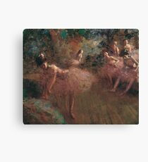 Jean-Louis Forain - Dancers In Pink Canvas Print