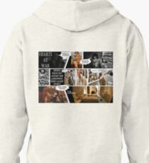 Hearts At War - Melbourne Exhibition Promo Poster  Pullover Hoodie