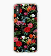 Botanisches Muster iPhone-Hülle & Cover