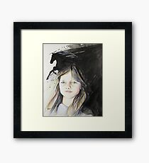 Kerry (commissioned work) Framed Print