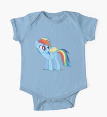 "Rainbow Dash - ""Chicks"" Textless ver. Kids Clothes"