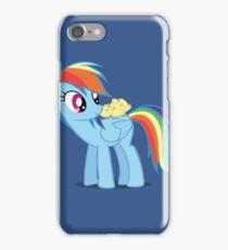"""Rainbow Dash - """"Chicks"""" Textless ver. iPhone Case/Skin"""