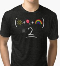 Equestrian Math Tri-blend T-Shirt