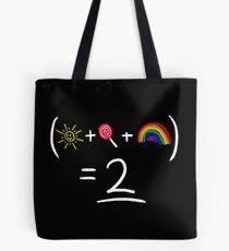 Equestrian Math Tote Bag