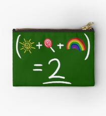 Equestrian Math Studio Pouch