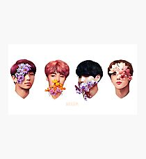 ❀ Flowers + Hyung Line ❀ Photographic Print