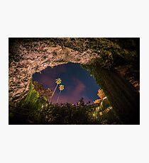 Umpherston Sinkhole, Mount Gambier Photographic Print
