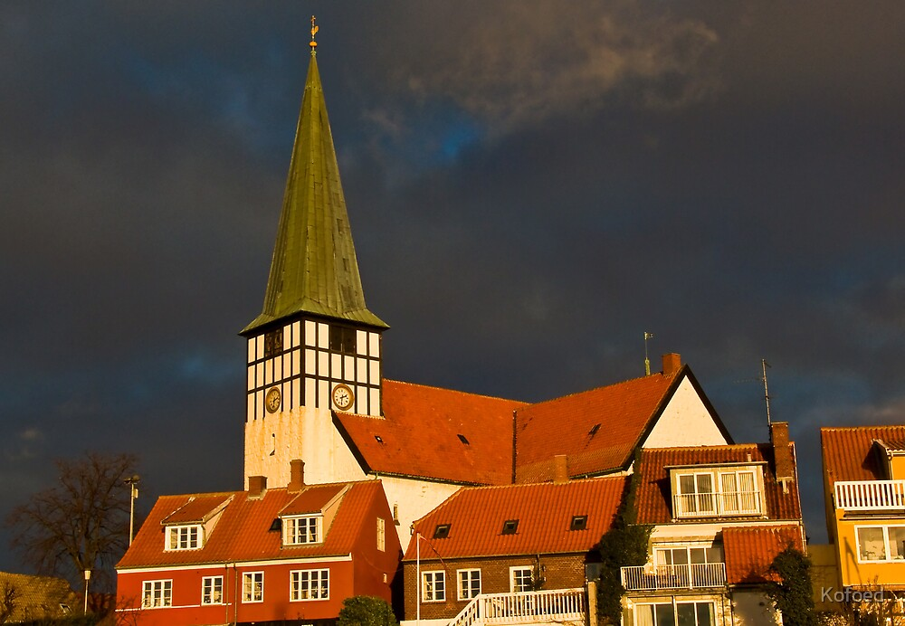 Town Church by Kofoed