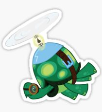 Tank: The Tortoise (Helicopter) Sticker