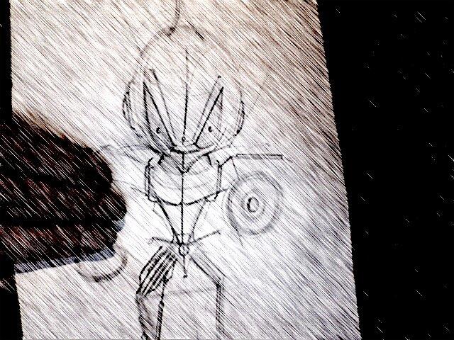 """Rough Insektoid Sketch 4 """"BITES"""".... by atomikboy"""