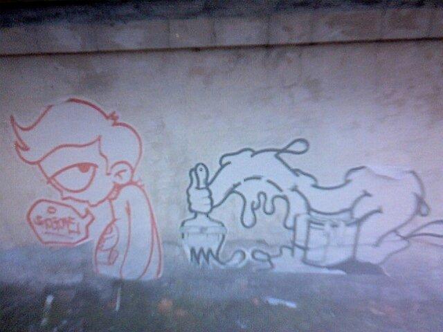 Raw Street Art by atomikboy