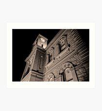 Mount Gambier Town Hall Art Print