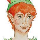 «Peter Pan» de SandraCasadoArt