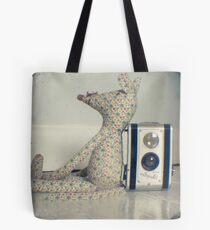 Mouse and camera Tote Bag