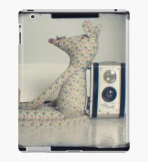 Mouse and camera iPad Case/Skin