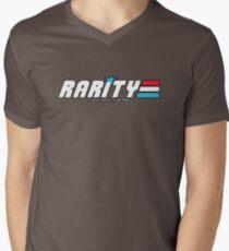 Rarity: A Real Equestrian Pony (Bordered Version) Men's V-Neck T-Shirt