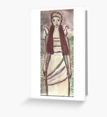 Yael The Dovekeeper Greeting Card