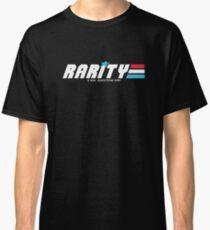 Rarity: A Real Equestrian Pony (Borderless Version) Classic T-Shirt