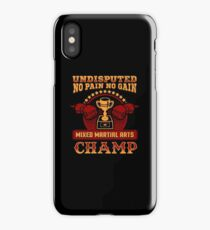 Mixed Martial Arts Champion iPhone Case/Skin