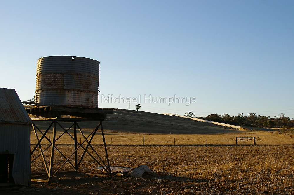 No Water in a Drought by Michael Humphrys