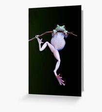 Acrobat Greeting Card