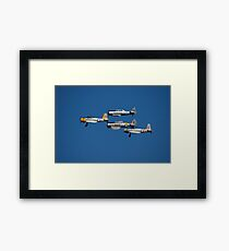 Trainer Formation,Coffs Harbour Airshow,Australia 2008  Framed Print