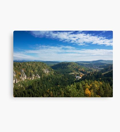 View from Střmen Canvas Print